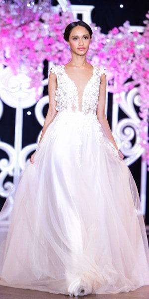Chantal Romano for Bergdorf Goodman Bridal